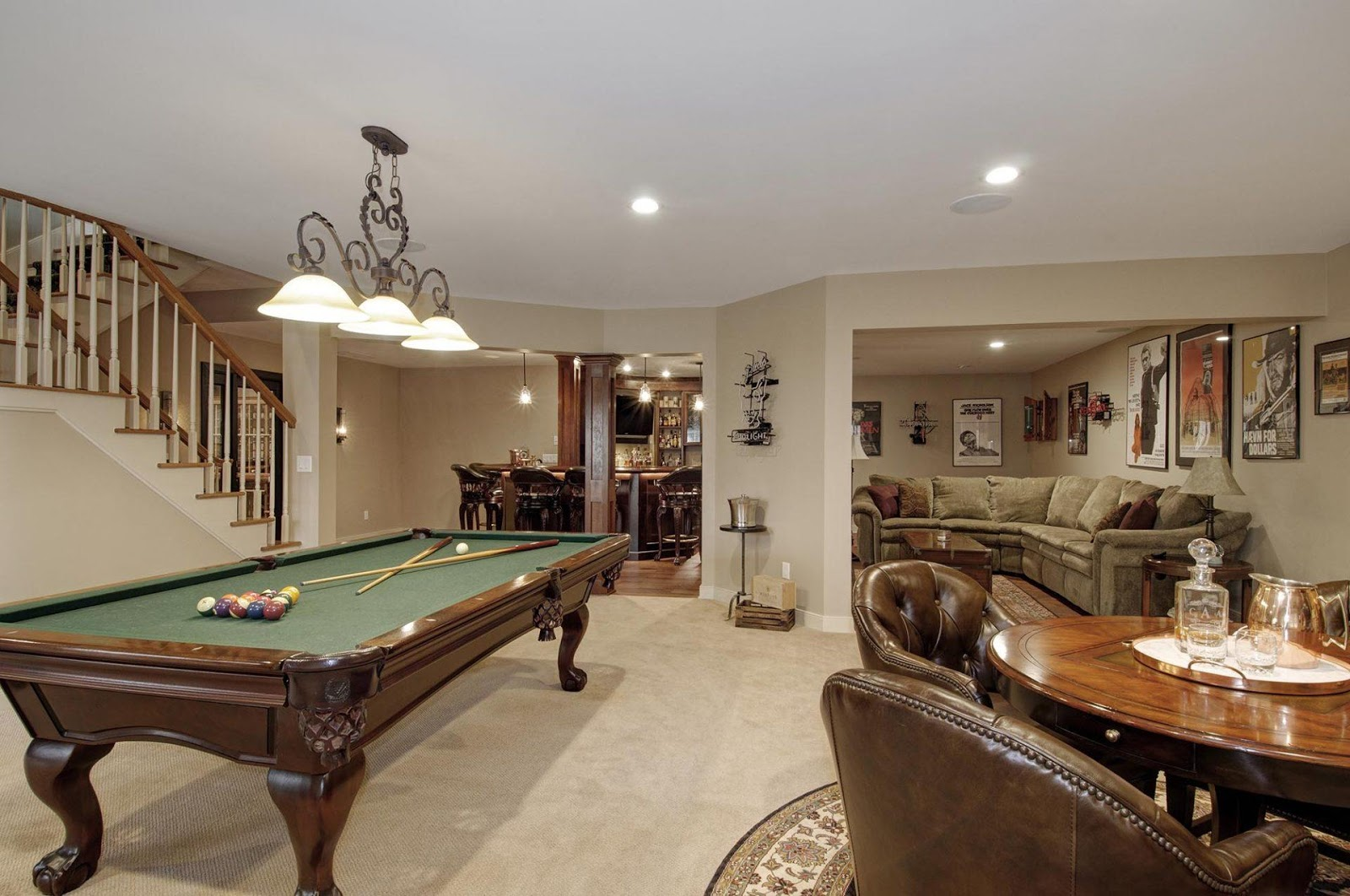 good basement transformation